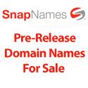 SnapNames PreRelease & Satılık Alan Adı Listesi 24-25-26-27-28 Ağustos 2010